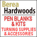 Berea Hardwoods -- Pen Kits, Supplies & More!