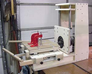 Flexible Shop-Built Mortising Machine