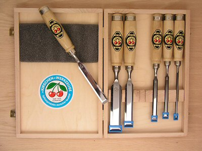Two-Cherries Chisel Set